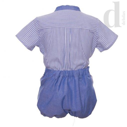 Conjunto niño azul Blanca Valiente Verano 2018