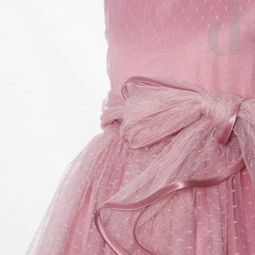 vestido tulipan rosa verano 2018