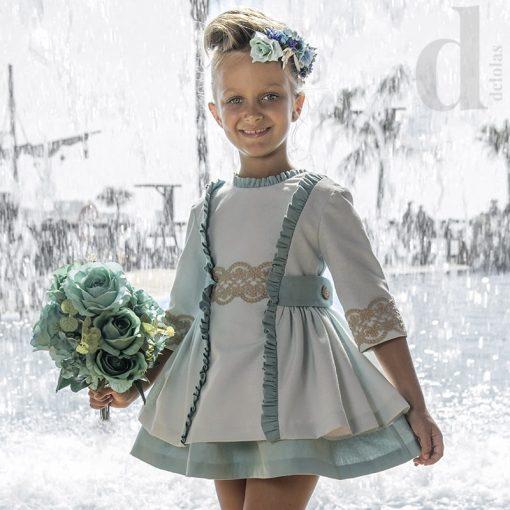 Vestido aloe nekenia ceremonia moda infantil