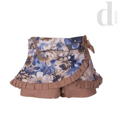 short-estampado-camel