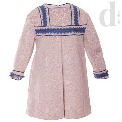 vestido-recto-gris-perla-dolce-petit-invierno