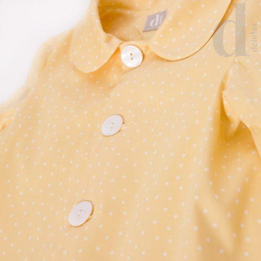 Gabardina niña amarilla d COLECCIÓN