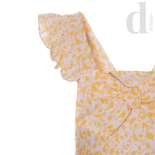 Ranita plumeti amarilla Blanca Valiente Verano 2018