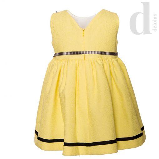 Vestido amarillo gina Eva Castro verano 2018 1