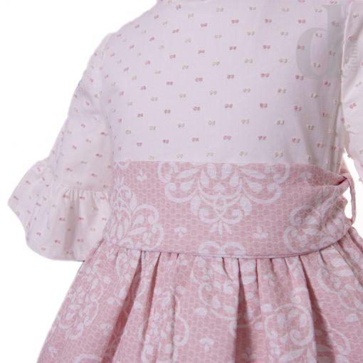 Vestido combinado Blanca Valiente verano 2018