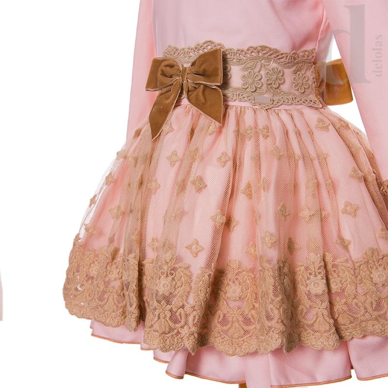 Vestido T B Princess La Amapola-Colección Otoño Invierno 2018 2019 6ad0a065d8