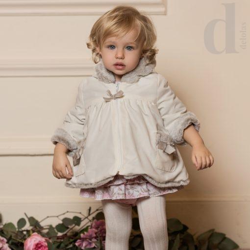 trenka bebe beige dolce petit