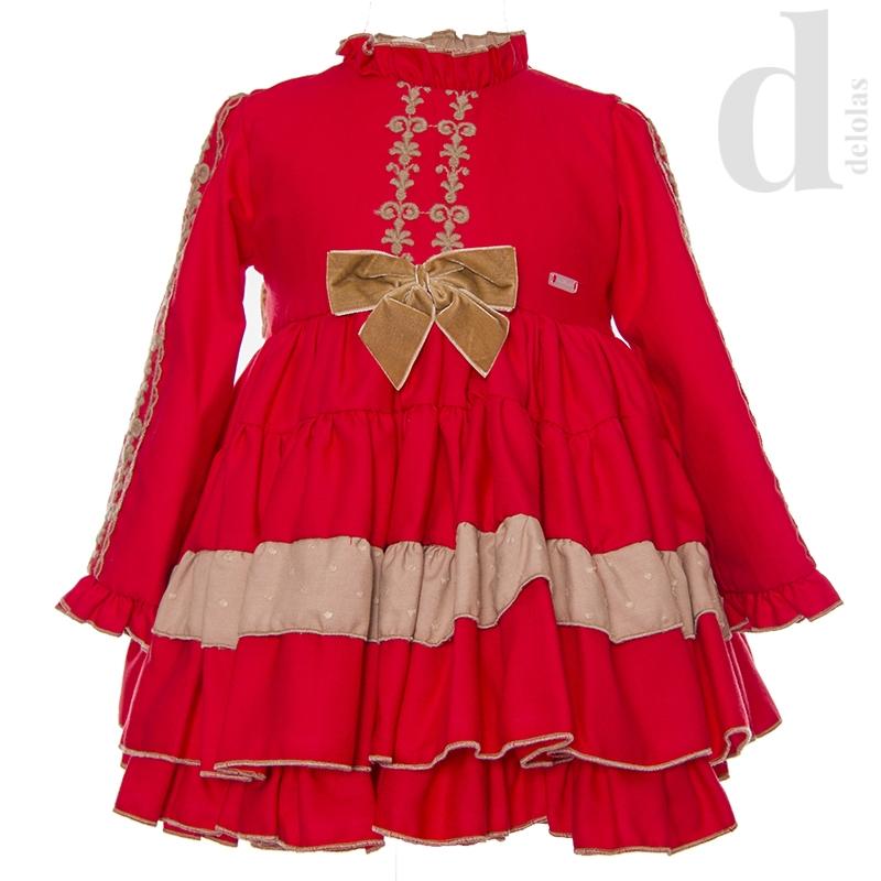 Vestido Rojo Lys La Amapola