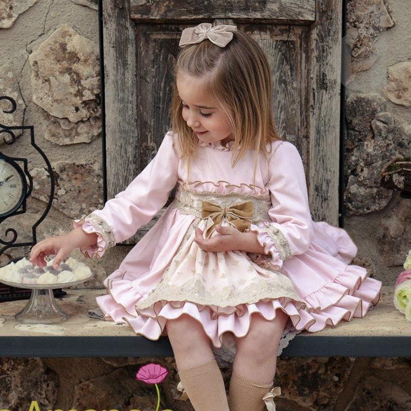 Vestido Princess La Amapola-Colección Otoño Invierno 2018 2019 1bfbaee98e