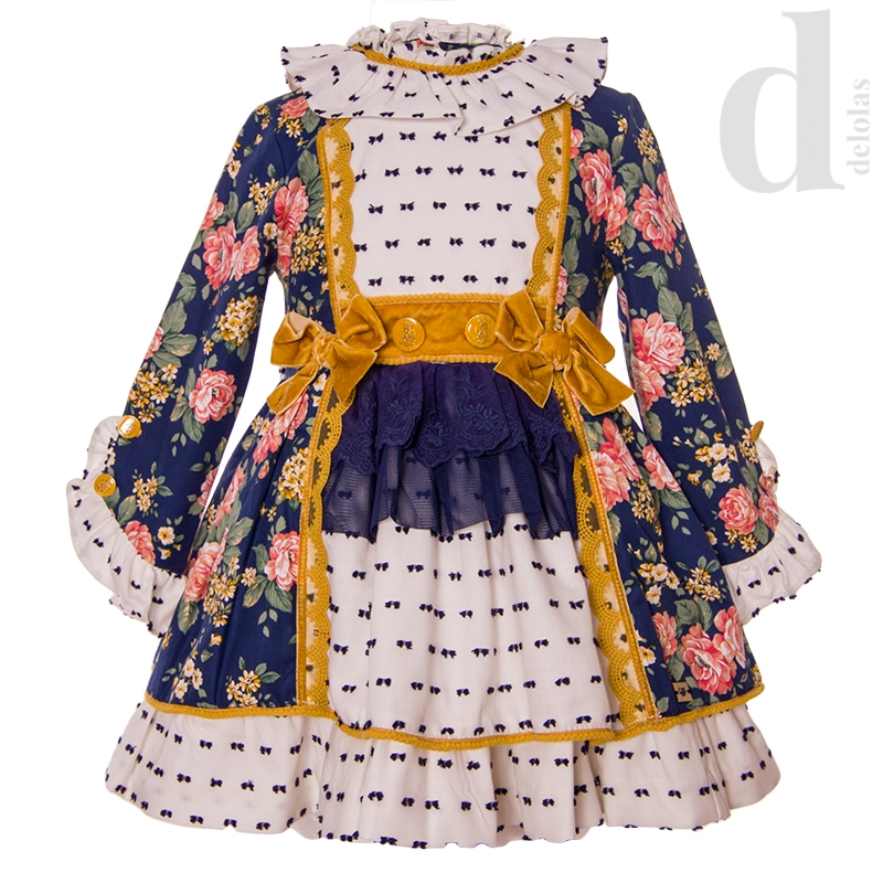 Vestido Vuelo Estampado Dolce Petit